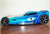 "Pat masina ""Blue Hot Wheels"""